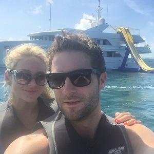 Stephanie Pratt and Josh Shepherd holiday in Bahamas, Instagram 12 April