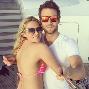 Stephanie Pratt and Josh Shepherd holiday in the Bahamas, Instagram 12 April