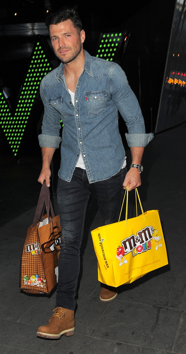 Mark Wright attends M&M's Character Election at M&M's World in Leicester Square