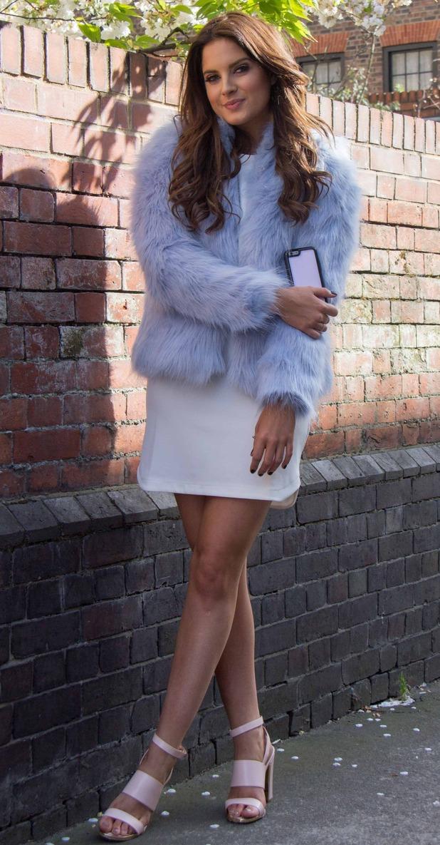 Binky on Fur