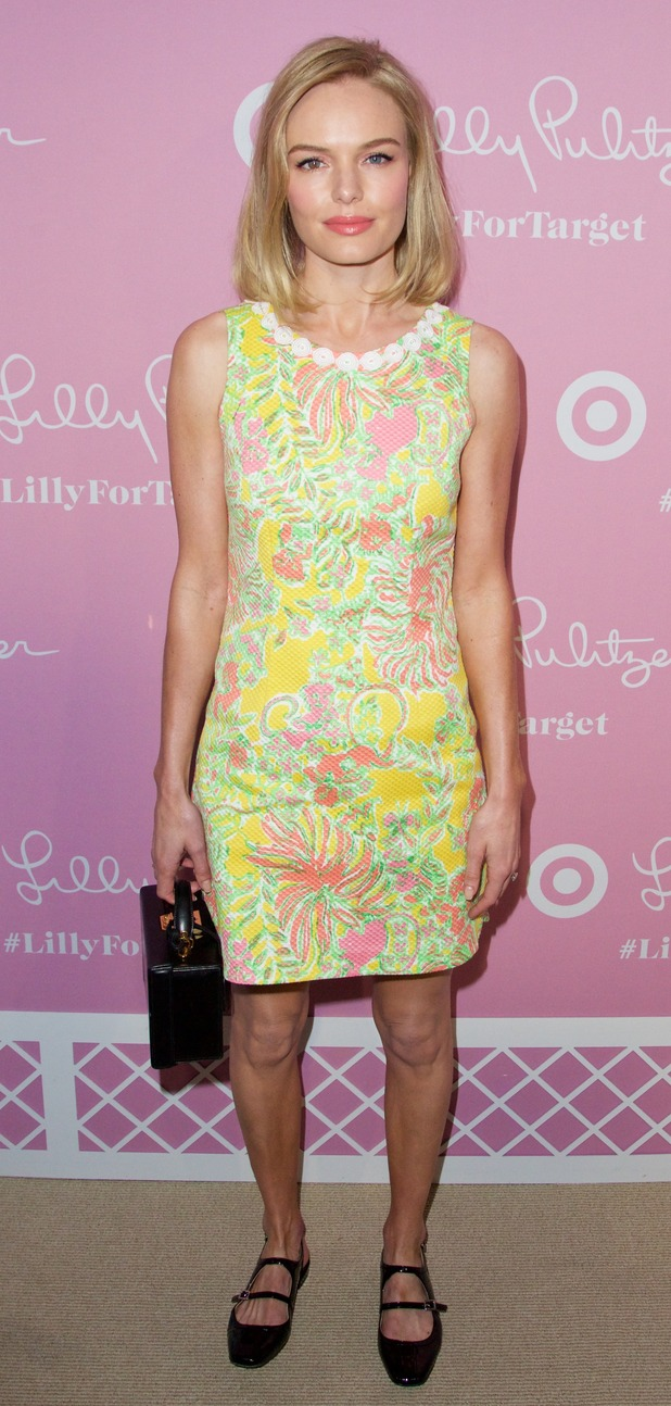 Kate Bosworth in 60's style dress