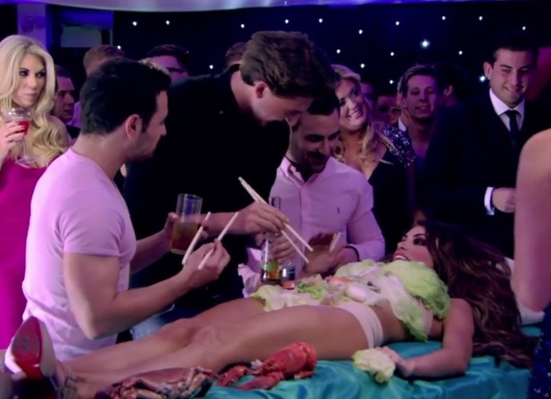 Chloe Sims Is Covered In Sushi On The Only Way Is Essex