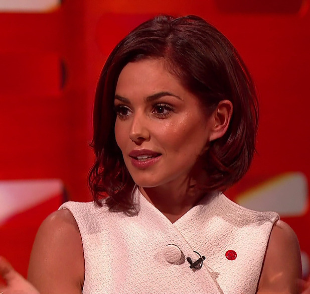 Cheryl Fernandez-Versini on a special Comic Relief edition of 'The Graham Norton Show'. Broadcast on BBC1 HD, 6 March 2015