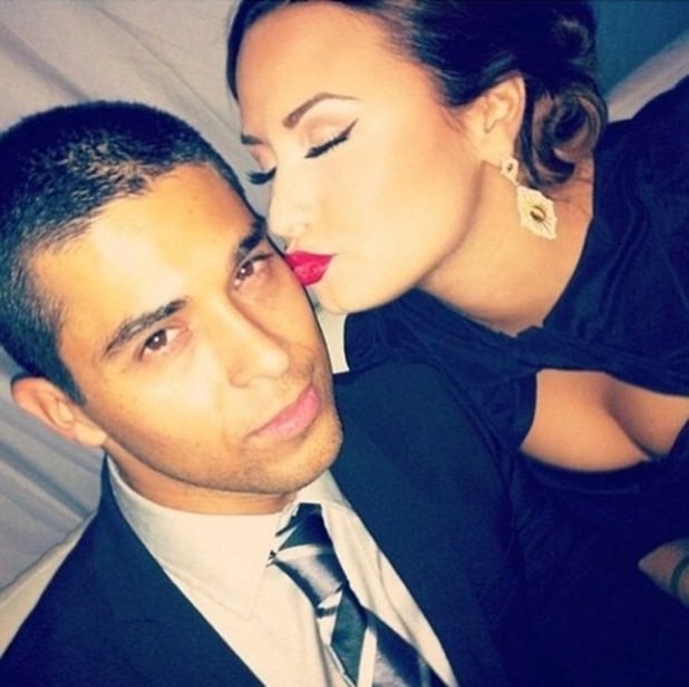 Demi Lovato and boyfriend Wilmer Valderrama, Instagram 17 April