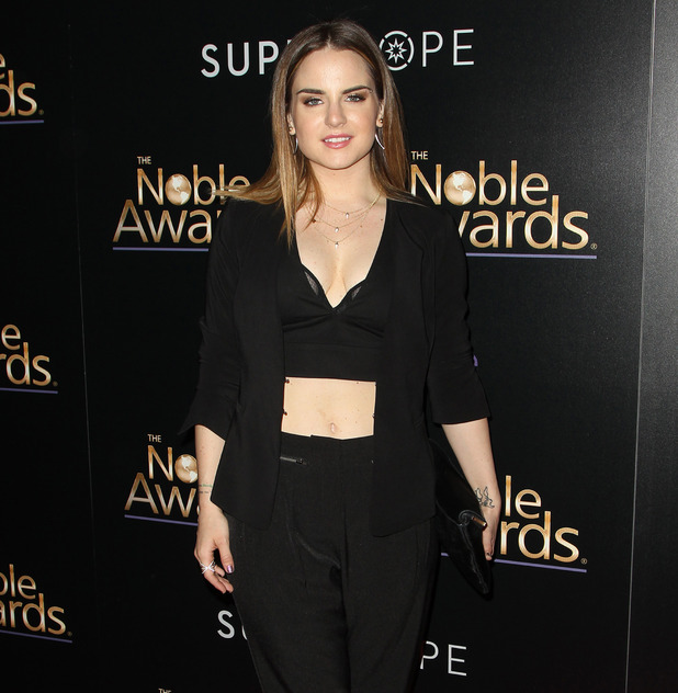 JoJo at the 3rd Annual Noble Awards at the Beverly Hilton Hotel, US 27 Feb