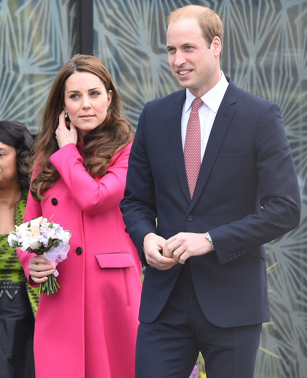 The Duke and Duchess of Cambridge visit the Stephen Lawrence Centre in South East London, March 2015