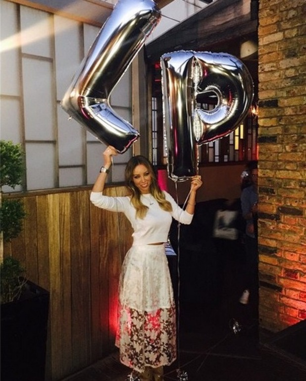 Lauren Pope after her launch for In The Style collection, Instagram 14 April