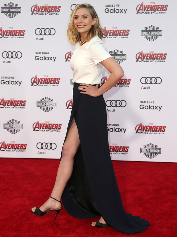 Elizabeth Olsen, World premiere of Marvel's 'The Avengers: Age of Ultron' held at The Dolby Theatre - Arrivals, 13 April 2015