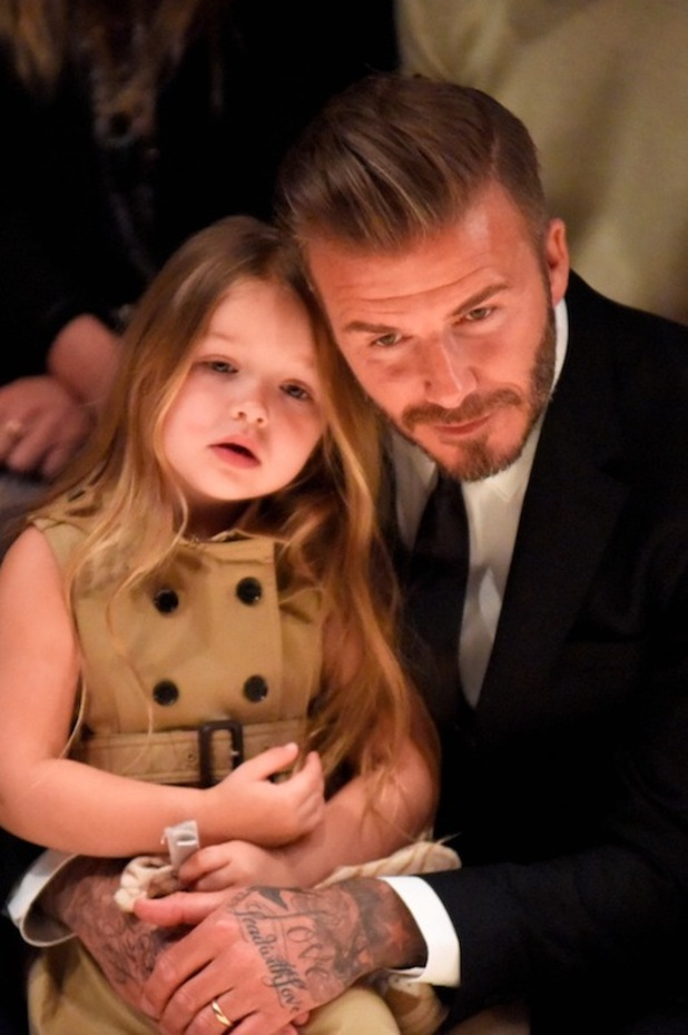 Harper Beckham's dress 16 april