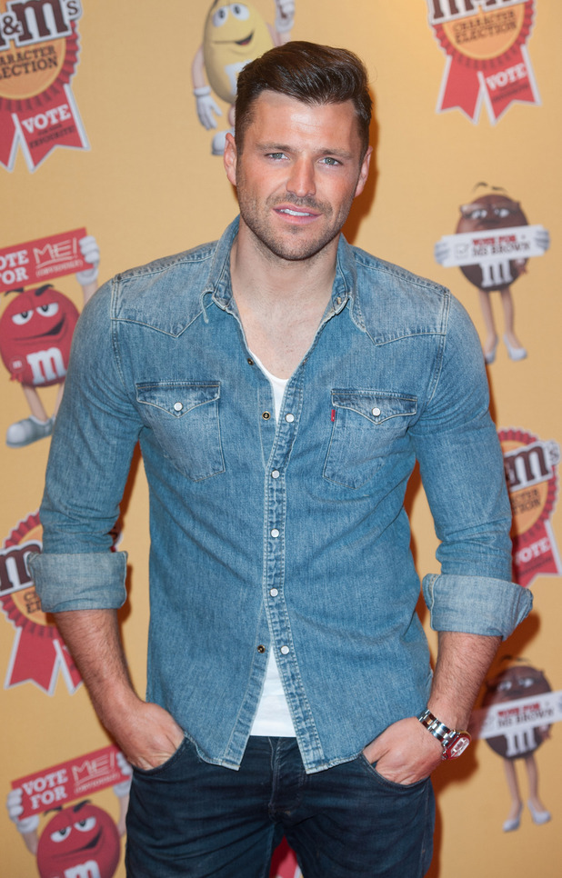 Mark Wright arrives at M&M characters election launch party held at M&M Leicester Square