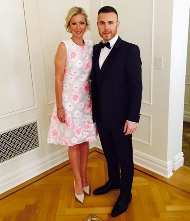 'Finding Neverland' Opening Night on Broadway, New York, America - 15 Apr 2015 Gary Barlow and wife Dawn