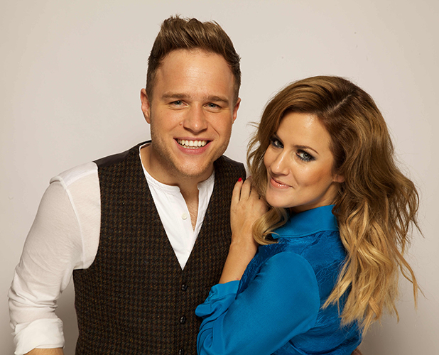 Olly Murs and Caroline Flack confirmed as new X Factor hosts, 2015