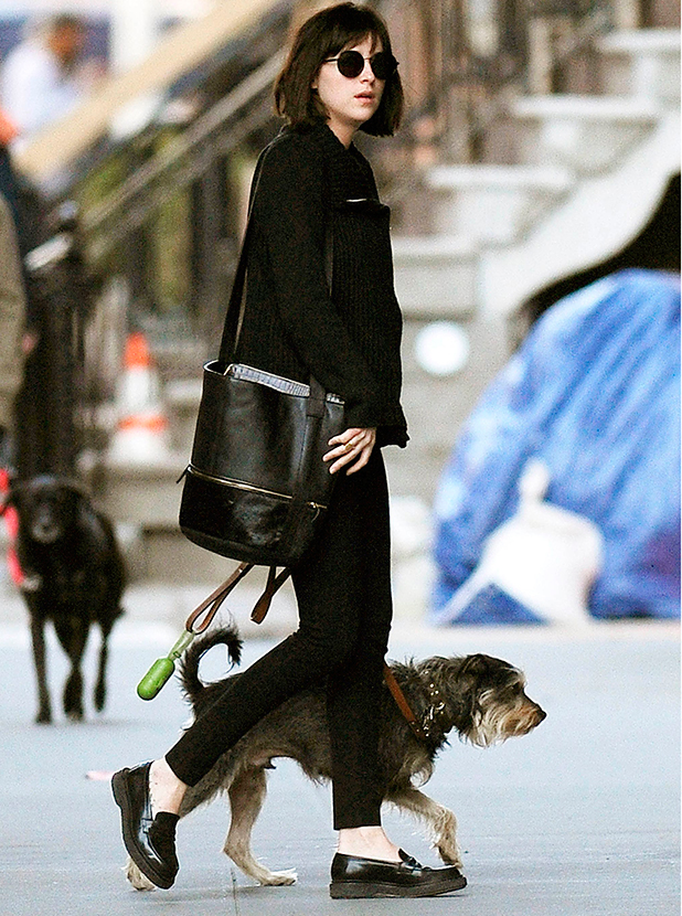 Dakota Johnson out and about, New York, America - 16 Apr 2015