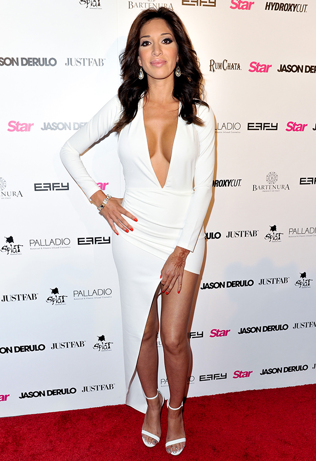 Farrah Abraham attends Star Magazine's Hollywood Rocks Event with Jason Derulo at The Argyle on April 15, 2015 in Hollywood, California.