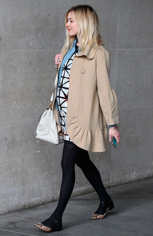 Fearne Cotton out and about, London, Britain - 13 Apr 2015