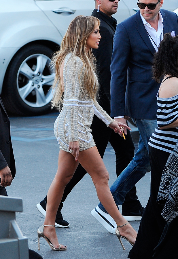 Jennifer Lopez at FOX's 'American Idol XIV' Top 6 Revealed on April 15, 2015 in Hollywood, California.