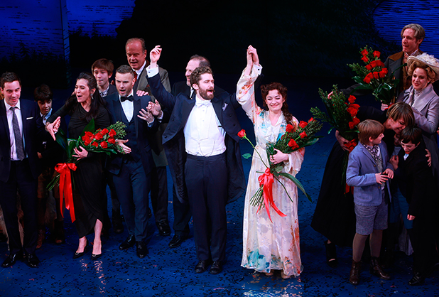 Opening Night of Broadway's Finding Neverland, sponsored by Brooks Brothers, Chase, iHeartMedia and USA TODAY, at the Lunt-Fontanne Theatre, 15 April 2015