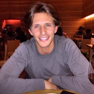 Jake Hall joins Chloe Lewis for dinner at Roka 19 April