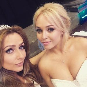 Jorgie Porter and Gemma Merna share selfie from Kieron Richardson's wedding, 25 April 2015