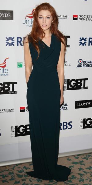 Nicola Roberts attends the British LGBT Awards at the Landmark Hotel, London - 24 April 2015