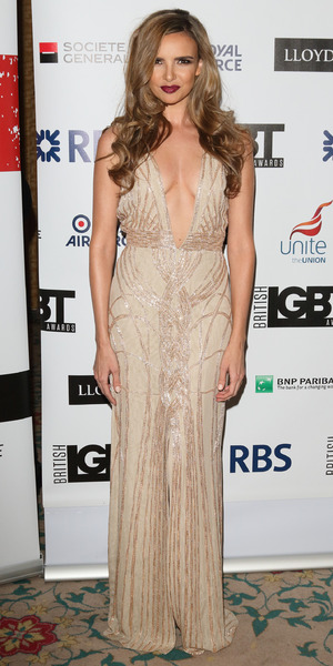 Nadine Coyle attends the British LGBT Awards at the Landmark Hotel, London - 24 April 2015