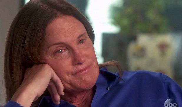 Bruce Jenner confirms he is transitioning into a woman on Diane Sawyer's ABC show, 24 April 2015