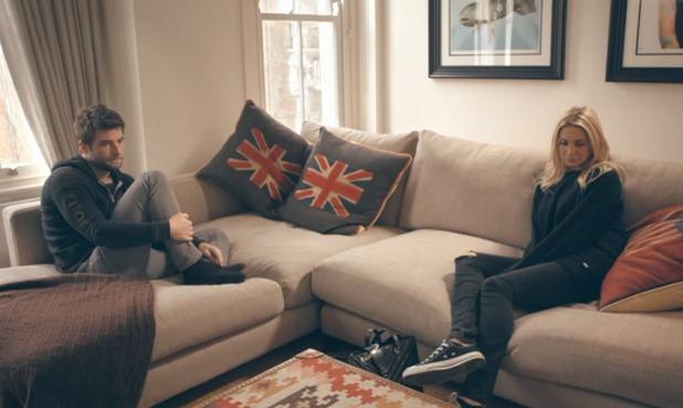 Made In Chelsea's Josh Shepherd argues with girlfriend Stephanie Pratt over new living arrangements - 20 April 2015.