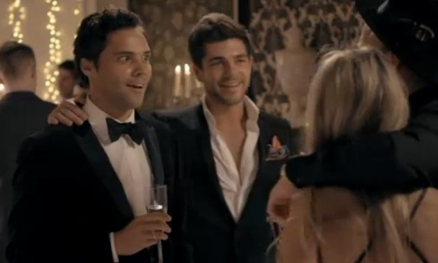 Made In Chelsea's Andy Jordan and Alex Mytton at ballet evening - 20 April 2015.