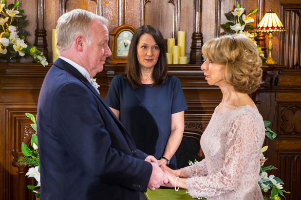 Corrie, Will Gail and Michael marry?, Fri 24 Apr