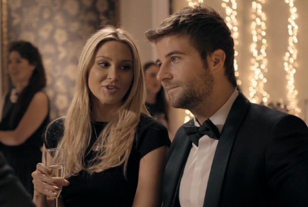 Made In Chelsea's Josh Shepherd makes up with girlfriend Stephanie Pratt after argument - 20 April 2015.