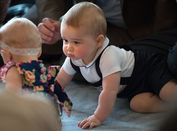 Prince George, Australia and New Zealand Tour April 2014