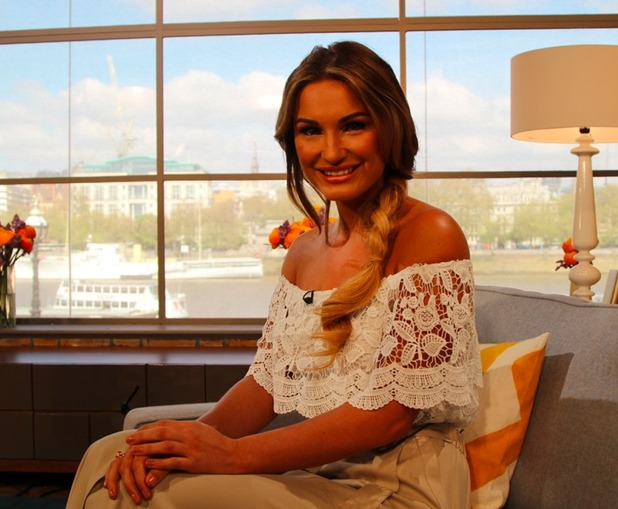 Sam Faiers talks about her new book on ITV's This Morning - 22 April 2015.
