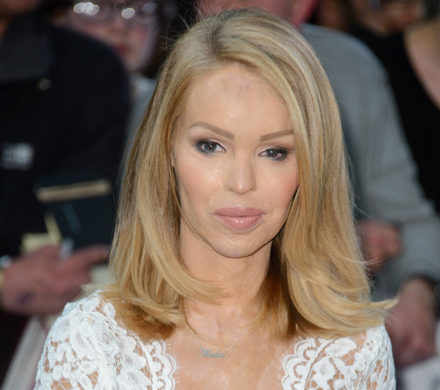 Katie Piper at 'The Avengers: Age Of Ultron' UK premiere - 04/21/2015 - London, United Kingdom.