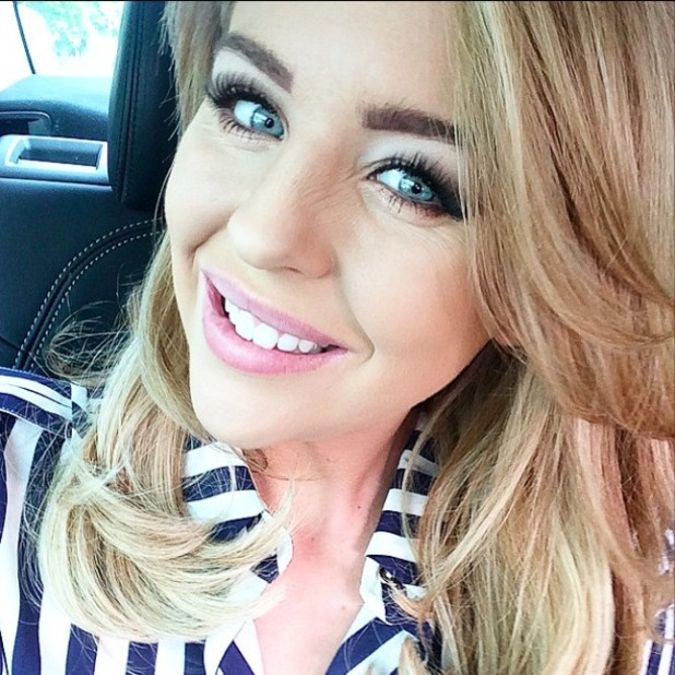 Lydia Bright teases exciting news, 24 April 2015