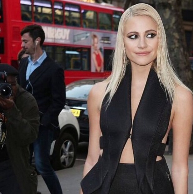 Pixie Lott, Notion Magazine 69th issue private dinner, 22 April 2015