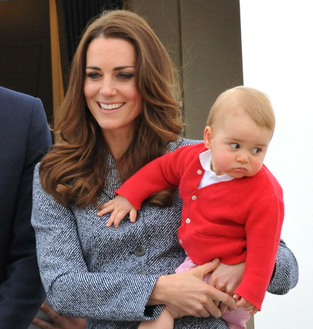 Prince George and Kate Middleton, Australia and New Zealand tour April 2014