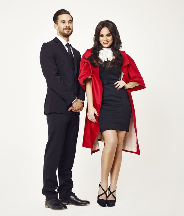 Vicky Pattison Judge Geordie official photo 23 April