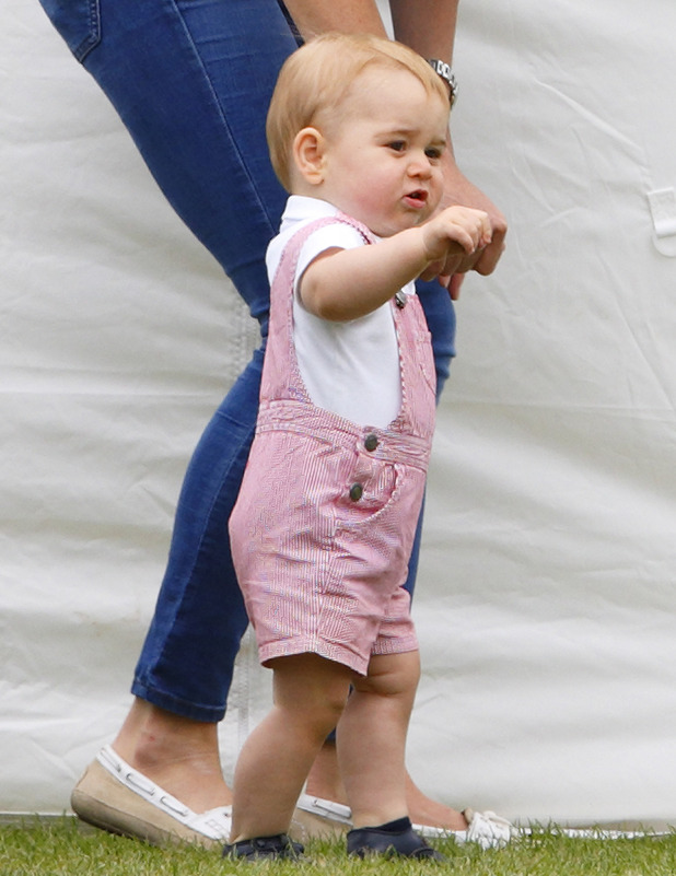 Prince George, Cirencester Polo June 2014