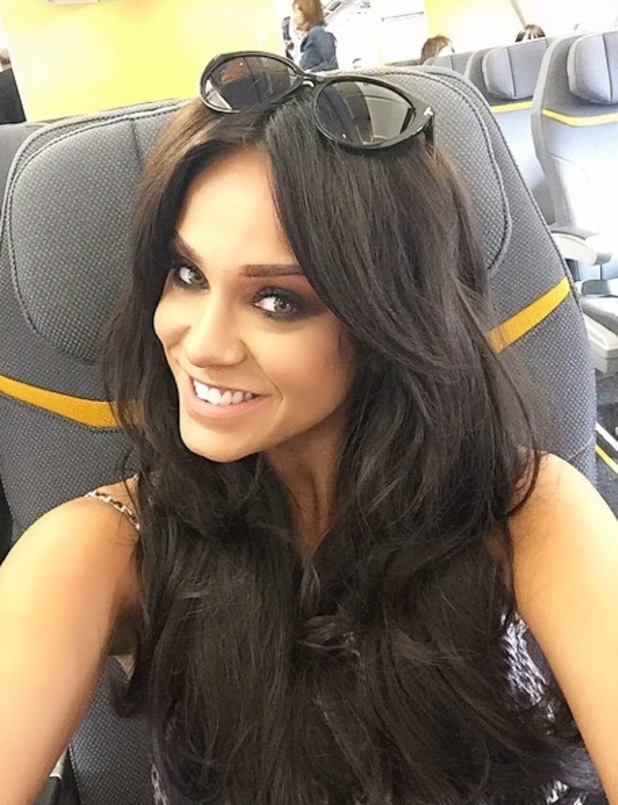 Vicky Pattison jets to Mexico, Instagram 23 April