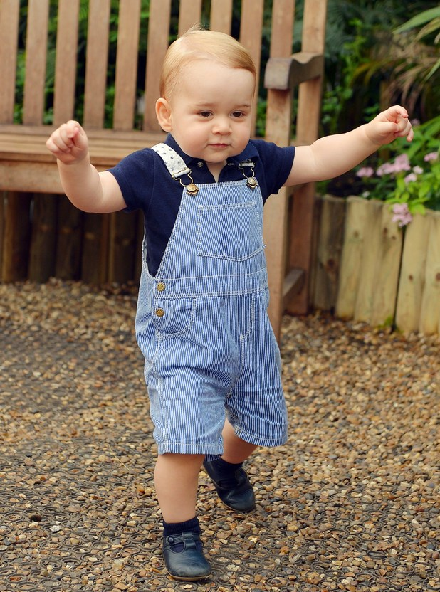 Prince George, First birthday pictures, Natural History Museum July 2014