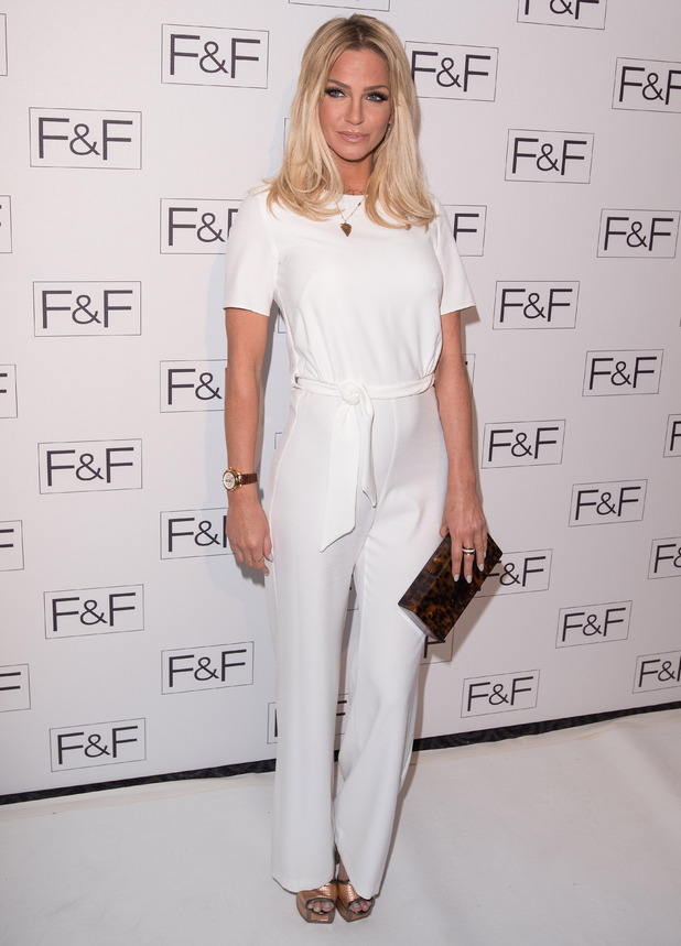 Sarah Harding, F&F Salon Show, Savoy hotel, London 20 April