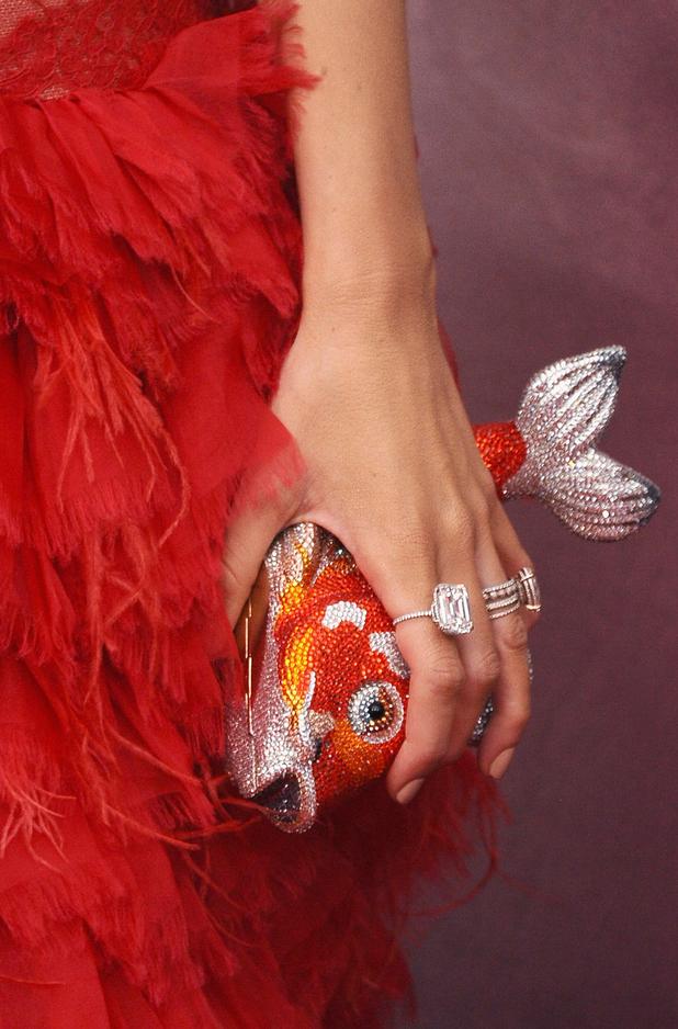 Blake Lively's fish clutch bag