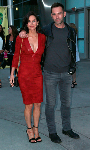 Courteney Cox and Johnny McDaid, 'Just Before I Go' at ArcLight Hollywood - Arrivals 20 April 2015
