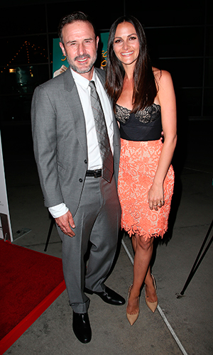 David Arquette and wife Christina, 'Just Before I Go' at ArcLight Hollywood - Arrivals 20 April 2015