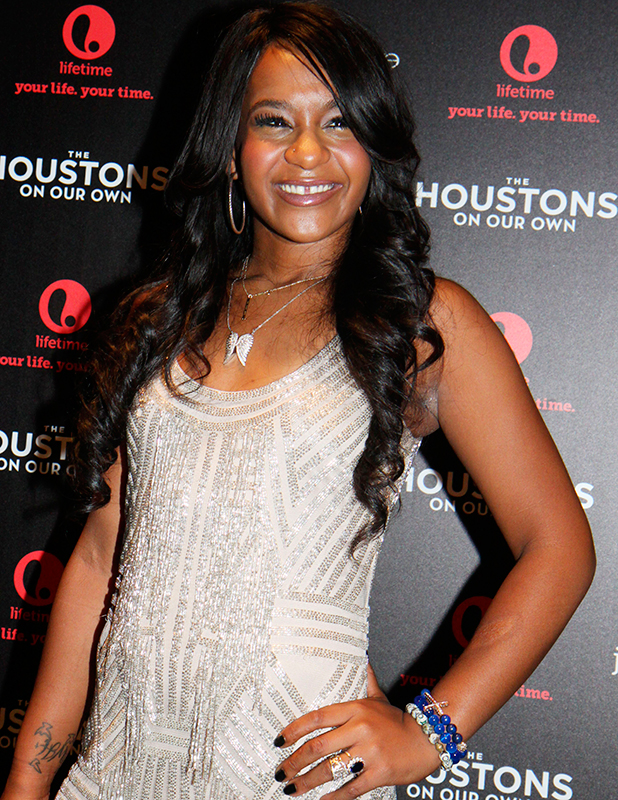 Bobbi Kristina pictured in 2012