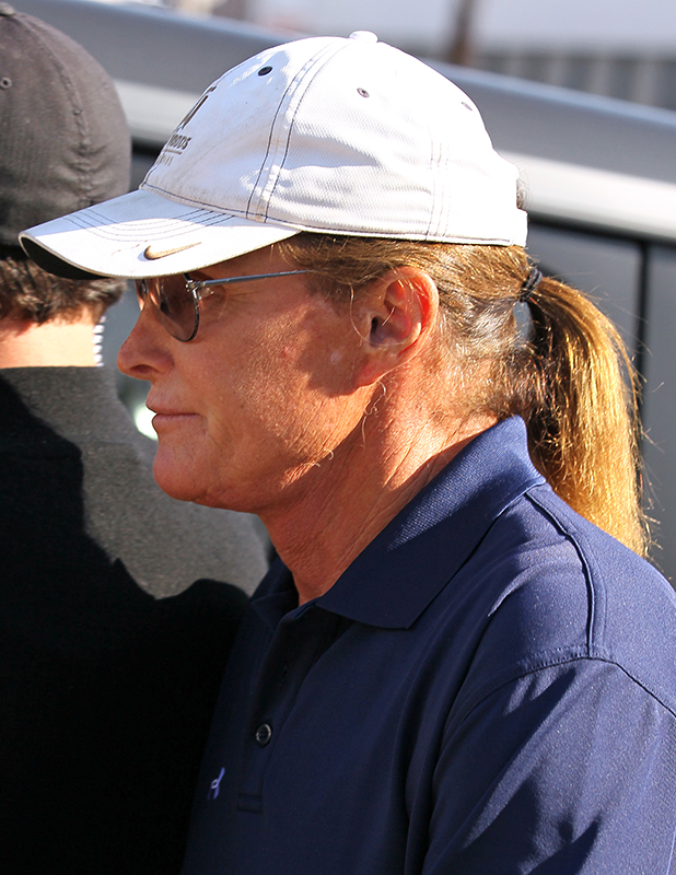 8: Bruce Jenner is seen filming his reality show on October 20, 2014 in Los Angeles, California. (Photo by JB Lacroix/GC Images)