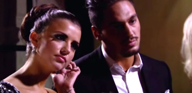 Mario Falcone and Lucy Mecklenburgh in TOWIE.