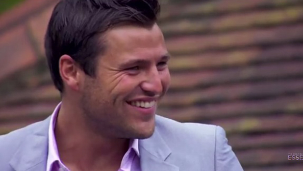 Mark Wright in an episode of TOWIE
