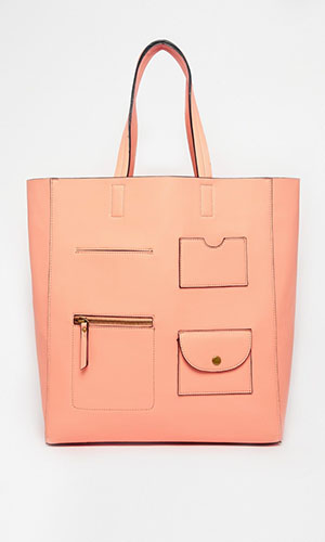 New Look peach bag £17.99