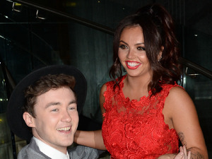 Rixton's Jake Roche gets down on one knee for Little Mix's Jesy Nelson!